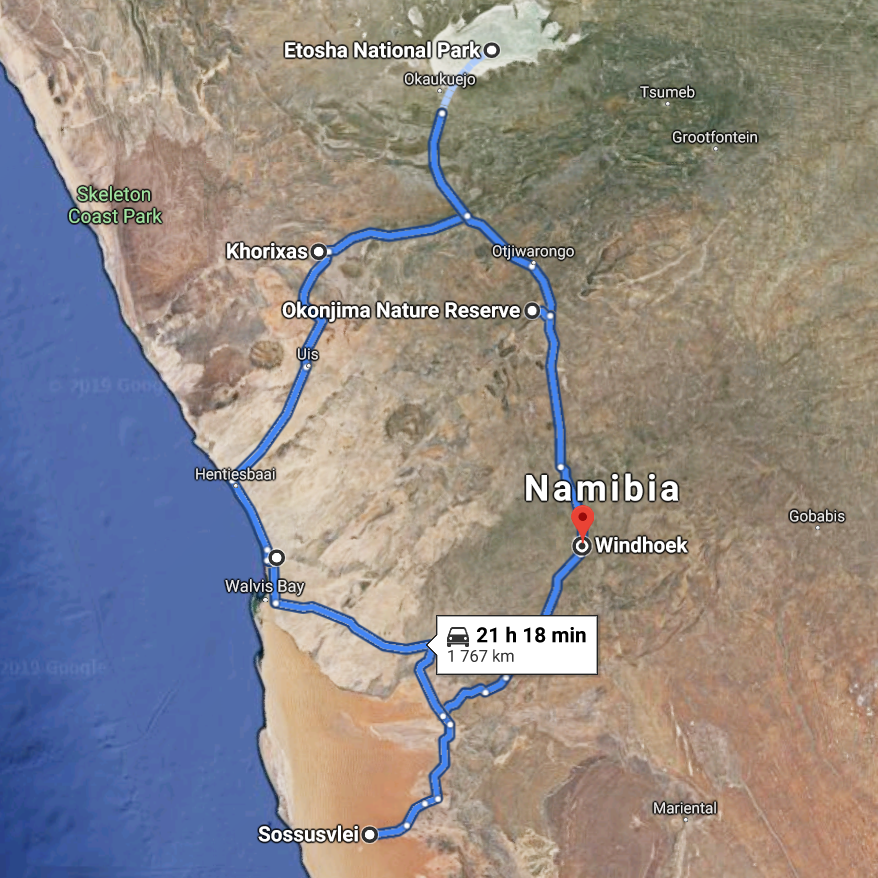 12 Days Highlights of Namibia